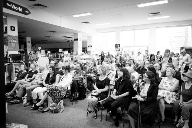 Adelaide launch B&W1