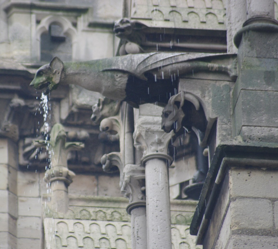 NotreDameSalivatingGargoyle